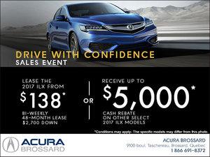 Lease the 2017 Acura ILX