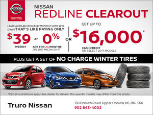 Nissan's Redline Clearout