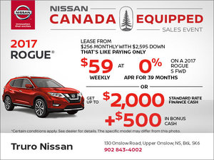 Get the 2017 Rogue Today!