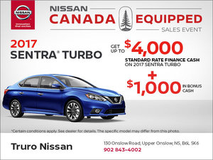 Save on the 2017 Sentra Turbo