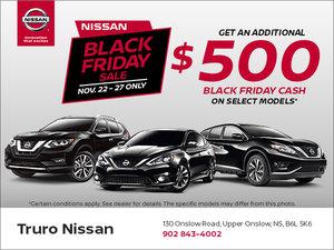 Nissan Black Friday Sale