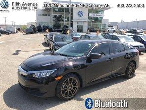 2016 Honda Civic Sedan LX  - Bluetooth -  Heated Seats - $120.66 B/W