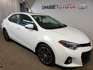 Toyota Corolla S Groupe Premium -Pneus NEUFS - Cuir - 2014