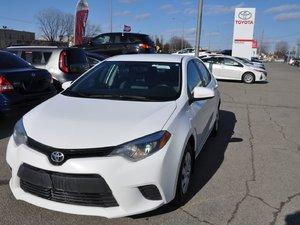 Toyota Corolla CE MANUEL 2016