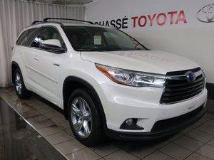 Toyota Highlander hybrid Limited + Garantie PEA 2015