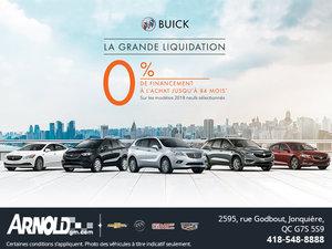 La Grande liquidation Buick