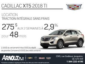 Cadillac XT5 2018!