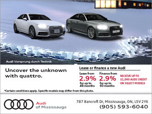 Audi's Monthly Sales Event