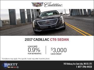 Save on the 2017 Cadillac CT6 Sedan