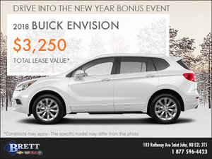 Save on the 2018 Buick Envision