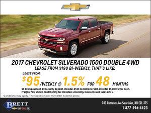 Save big on the 2017 Chevrolet Silverado 1500!