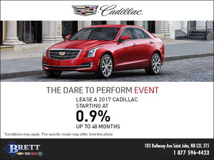 Cadillac's Dare to Perform Event!