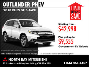 Mitsubishi Promotions Special Offers North Bay Mitsubishi In - Mitsubishi promotions