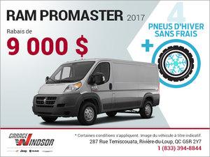 Le RAM Promaster 2017 en rabais!