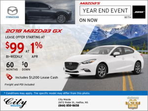 Drive Home the 2018 Mazda3 GX Now!