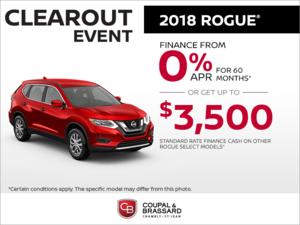 2018 Nissan Rogue!
