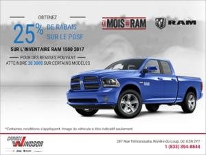 Le mois du RAM