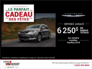 L'événement Le parfait cadeau des fêtes de Chrysler