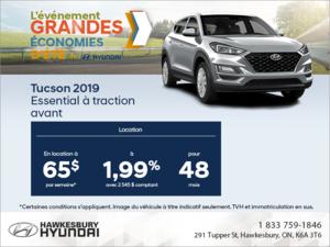 Louez le Tucson 2019!