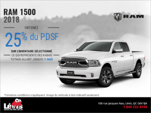 Procurez-vou le RAM 1500 2018