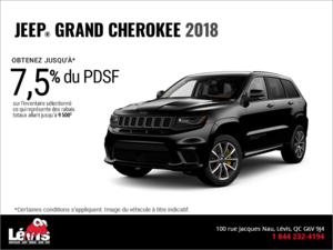 Conduisez un Jeep Grand Cherokee 2018!