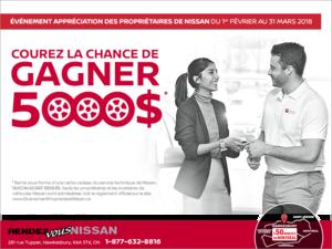 L'Événement appréciation des propriétaires de Nissan