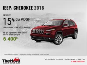 Conduisez un Jeep Cherokee 2018