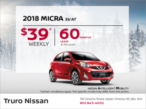2018 Nissan Micra Today!