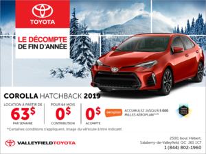 Toyota Corolla à hàyon 2019