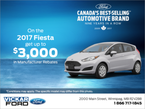 Save on the 2017 Fiesta!