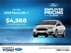 Save on the 2018 Focus!