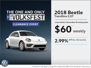 Get the 2018 Beetle Today!