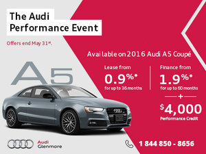 This Spring, Save Big on the Audi A5 Coupé