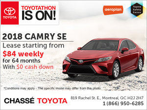 Save on the 2018 Camry