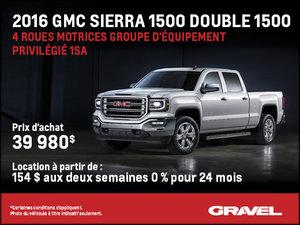 Sierra 1500 Double 2016 à la location