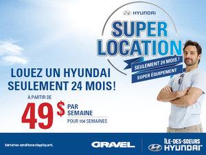 Super location Hyundai !