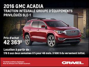 GMC Acadia SLE-1 2016