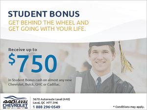 GM Student Bonus