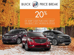 Deal 20% Buick 2017