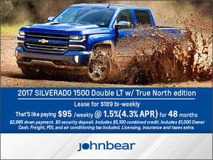 Save Big on the 2017 Silverado 1500!