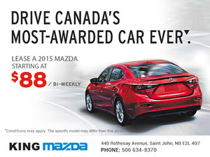 Drive Canada's Most-Awarded Car Ever!