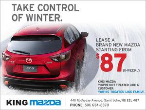 King Mazda's Sales Event!