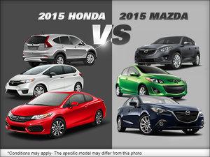 Honda vs. Mazda