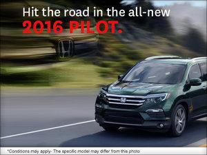 The all-new 2016 Honda Pilot at Civic Motors Honda