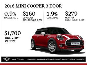 2016 MINI Cooper 3 Door
