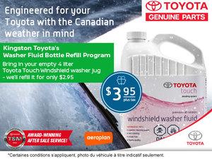 Windshield Washer Service Offer