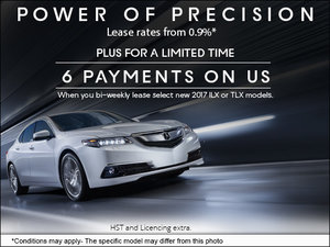 Acura's Power of Precision Sales Event!