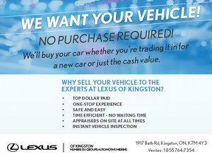 We Want Your Vehicle!