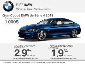 BMW 4 en rabais