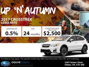Get the 2017 Subaru Crosstrek
